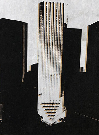 Trump Tower (1981) by Andy Warhol