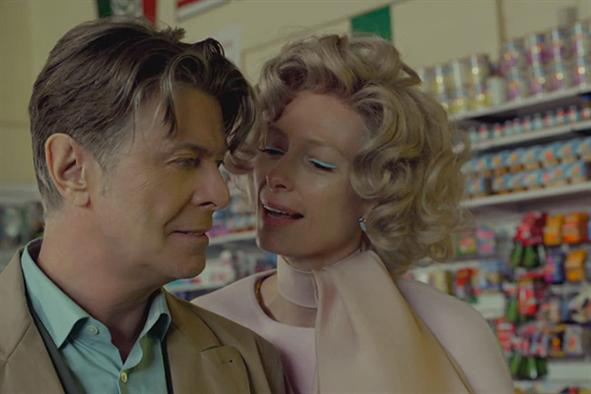 David Bowie and Tilda Swinton - The Stars Are Out Tonight video