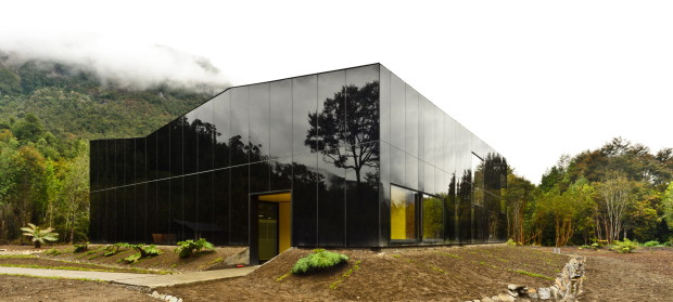 Water Bottling Plant by Panorama Arquitectos