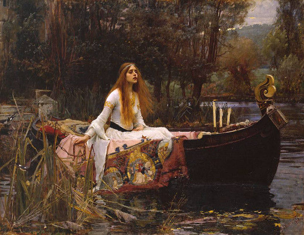 The Lady of Shalott (1880) by John William Waterhouse