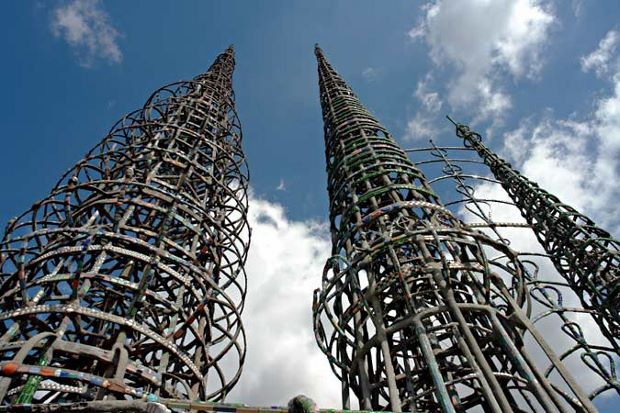 The Watts Towers by Simon Rodia