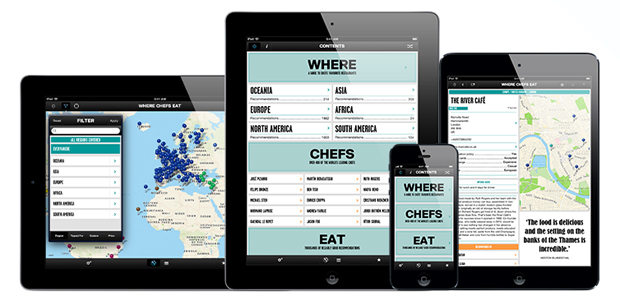 Where Chefs Eat App - great food at your fingertips