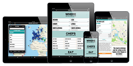 The Where Chefs Eat App