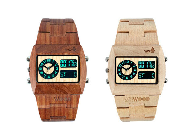 Wood you? Sophisticated sustainability by WeWOOD watches