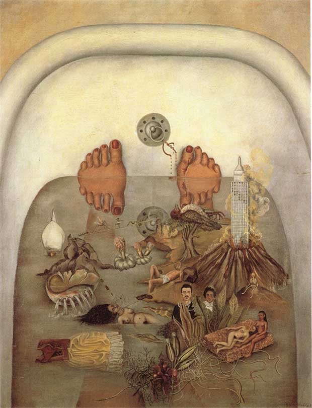 What The Water Gave Me (1938) by Frida Kahlo