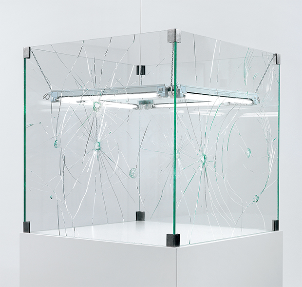 White (2003) by Monica Bonvicini