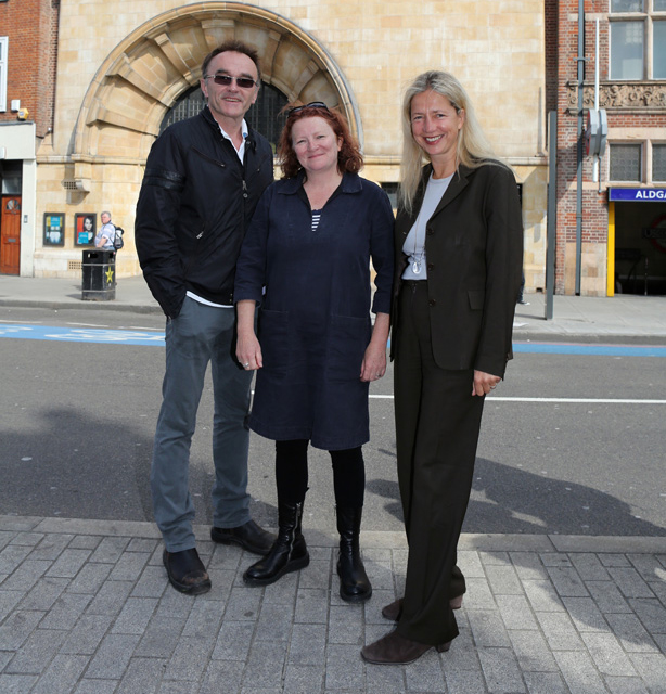 Danny Boyle, Rachel Whiteread and Iwona Blazwick OBE