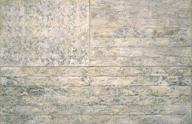 White Flag (1955) by Jasper Johns