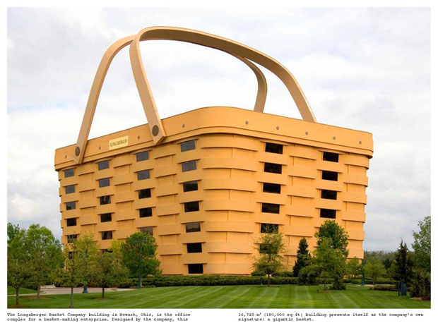 The Longaberger Basket building, from Wild Art