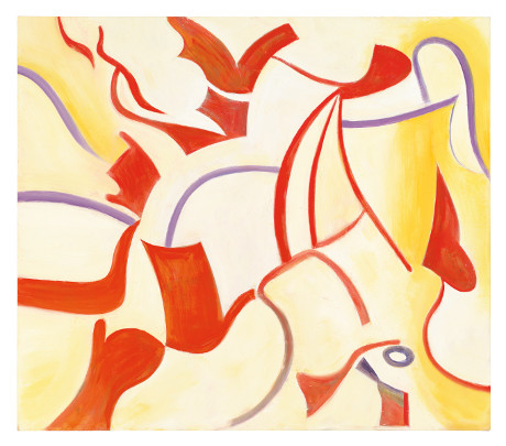 The Privileged (Untitled XX), 1985 Oil on canvas 70 x 80 inches (177.8 x 203.2 cm). © 2013 The Willem de Kooning Foundation/Artists Rights Society (ARS), New York. Tim Nighswander/ IMAGING4ART