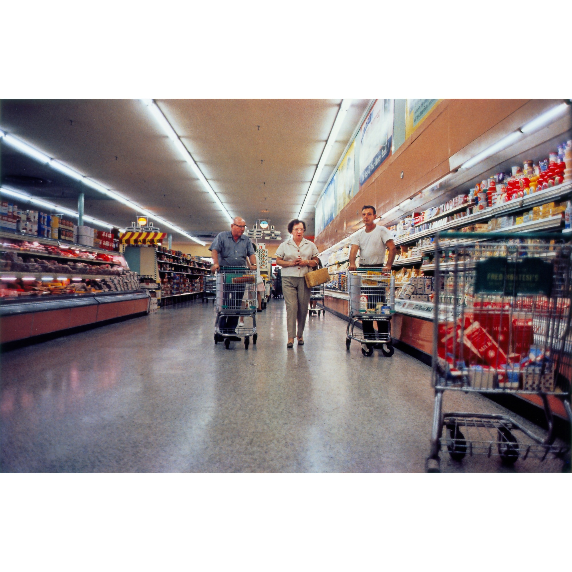 William Eggelston, untitled (grocery store) courtesy of Victoria Miro