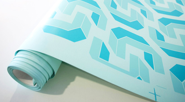Graphic Odyssey: limited edition wallpaper from the Design Museum