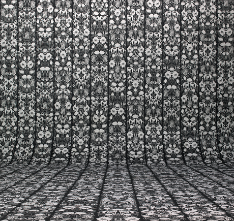 The Withered Flowers pattern from Studio Jobs' Archives Wallpaper collection for  NLXL