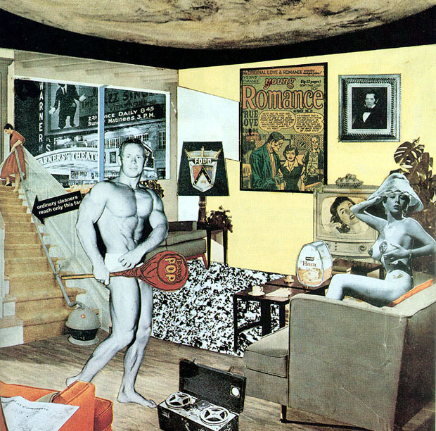 Just what is it that makes today's homes so different, so appealing? (1956) by Richard Hamilton
