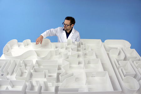 Pedro Reyes at his Sanatorium
