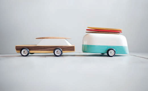 Woodie and Camper by Vlad Dragusin for Candylab Toys