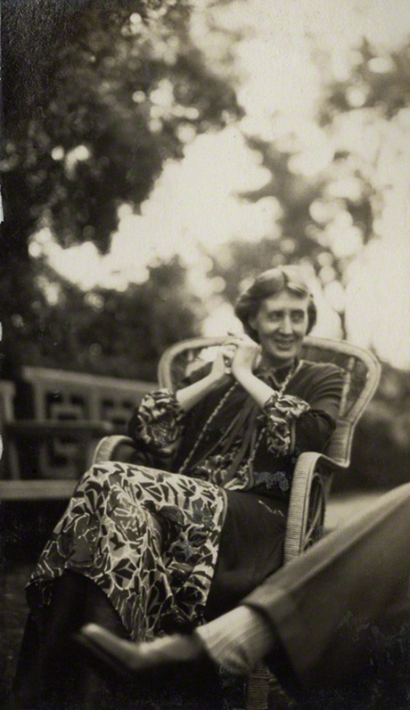 Virginia Woolf as photographed by Lady Morell 1926