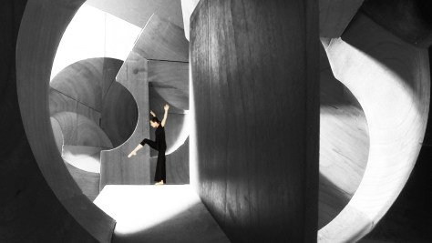 Tesseracts of Time by Steven Holl and Jessica Lang