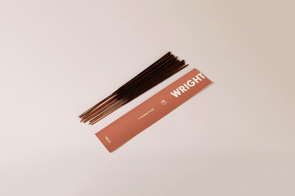 Wright incense by YIELD. Images courtesy of yielddesign.co