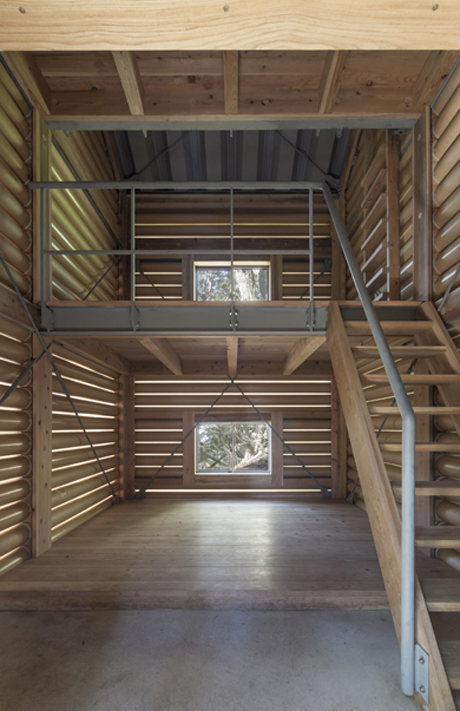 Yakushima Takatsuka Lodge by Shigeru Ban Architects