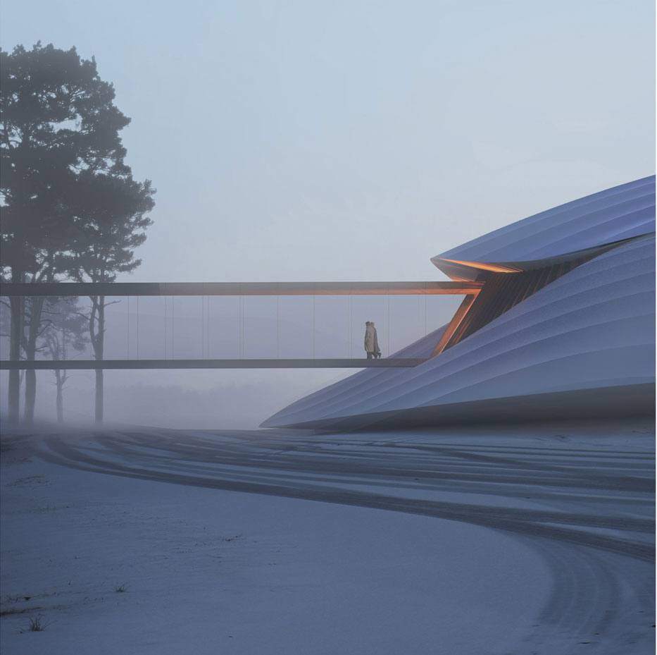The Yabuli Conference Centre by MAD Architects