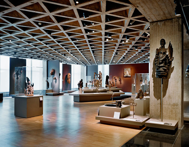 Yale University Art Gallery by Louis Kahn