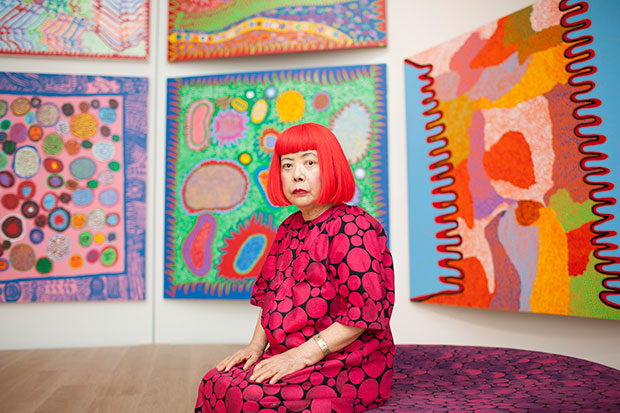 A quick look at the new Yayoi Kusama show