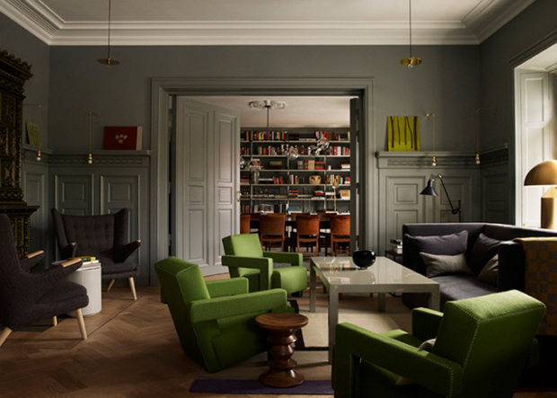 Ilse crawford creates home from home in stockholm Art gallery interior design