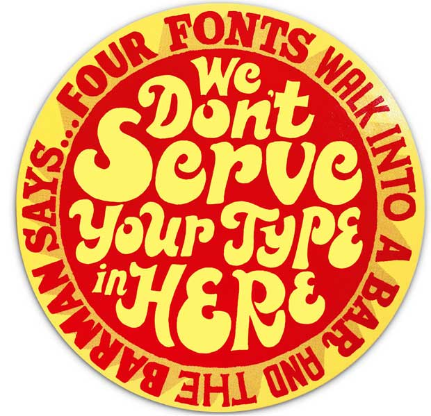 We don't serve your type here - Andy Smith