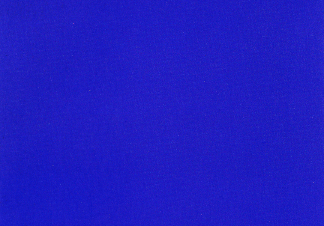ikb - International Klein Blue, 1957