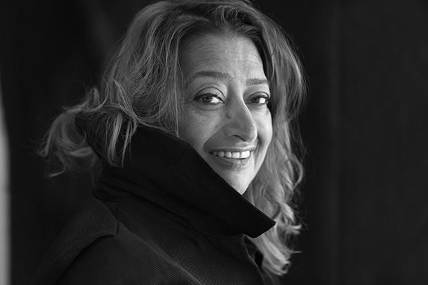 Zaha Hadid. Photograph by Brigitte Lacombe. Image courtesy of Zaha Hadid Architects