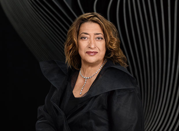 Zaha Hadid - photo by Mary McCartney