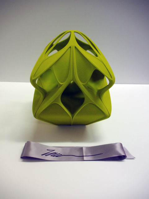 Zaha Hadid's Christmas bauble