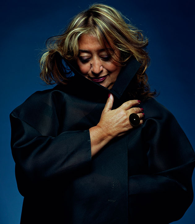 Zaha Hadid by Sir Peter Cook