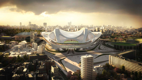 Japan National Stadium by Zaha Hadid Architects © ZHA