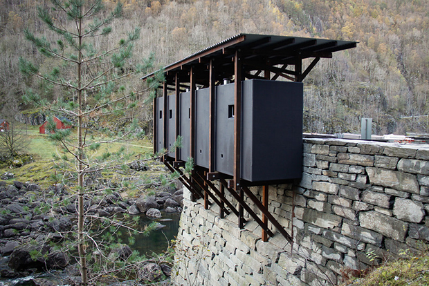 Peter Zumthor's tourism designs for an old zinc mine